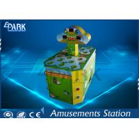 Cartoon Patterns Electronic Kids Coin Operated Game Machine Hit Frog Double Player Manufactures
