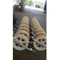Stringing Machine Series Single Sheave Stringing Pulley Block / Pay off Pulley Block Manufactures