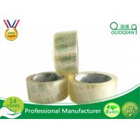 Low Noise Transparent Crystal Clear Tape Environment Protection Fragile Manufactures