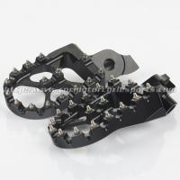 Suzuki Aluminum Dirt Bike Foot Pegs Anti Slip Control Motocross Footpegs With High Grip Manufactures