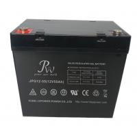VRLA Rechargeable Lead Acid Gel Battery Non Spillable 12V 55Ah CE UL RoHs Manufactures