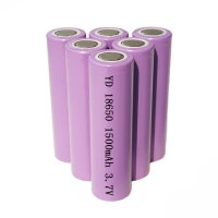 OEM ODM 5.55Wh 3.7V 1500mAh 18650 Li Ion Battery Manufactures
