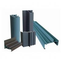 OEM 6005 Wood Grain Coated Aluminum Window Extrusion Profiles For Hotel Doors And Windows Manufactures