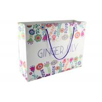 Quality Color Printed Collapsible Paper Shopping Bags Packaging Gift Bags For Business for sale