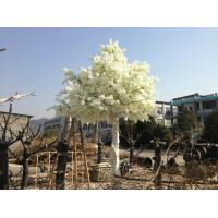 2017 factory direct silk fabric wedding decorating fake artificial plastic cherry blossom tree Manufactures