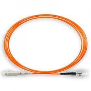 Fiber patch cords Simplex fiber patch cord 3.0mm OM1 PVC ST - SC / PC 1M Manufactures