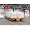 CE Bulk Material Handling Equipment Battery Powered Cart On Rails 12 Months Warranty Manufactures