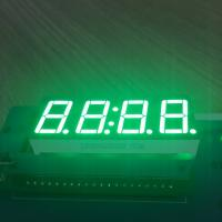 Pure Green LED Clock Display 4 digit 7 segment For Industrial Timer Manufactures
