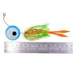 5 pcs Random mixed color 100G jigs head fishing lure lead head jigs fishing bait Lead-head fishing combination