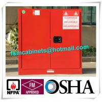 Buy cheap Fireproof Hazardous Industrial Safety Cabinets For Flammable And Combustible from wholesalers