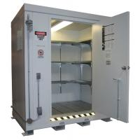 Chemical Safety Storage Cabinets , Hazmat Storage Containers For Hazardous Material Manufactures