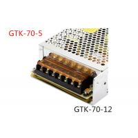 Automatically Recovers Regulated Switching Power Supply 70W DC 5A Low Power Consumption Manufactures