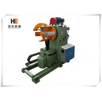 Quality Honger Machine Hydraulic Decoiler Machine 3.75 Kw Motor 3.75 Kw Frequency Converter Drive for sale