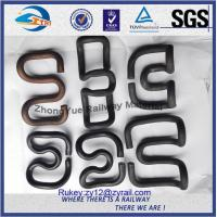 Custom SKL Crane Rail Clips E Clips Fasteners With Oxide Sprayed Manufactures