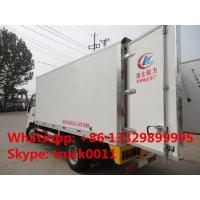 Quality Iveco Yuejin 5tons refrigerator truck, Yuejin brand stainless steel cold room truck for sea food and seafish for sale for sale