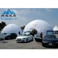 Galvanized Transparent Geodesic Dome Tent House 6M/8M/10M For Trade Show Manufactures