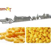 70KW Snack Food Extruder Machine / Snacks Making Machine For Core Filling Bars Manufactures