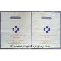Quality Disposable Cornstarch Biodegradable Plastic Bag With Handle Hole for sale