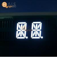 Easy assembly 14 Segment Alphanumeric Display 0.54 Inch Dual Digit Common Anode Manufactures