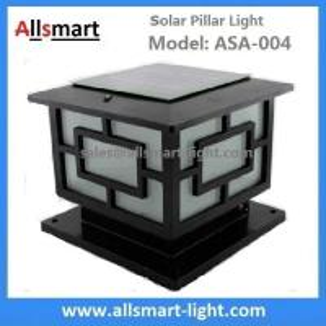Buy cheap Aluminum Solar Pillar Lights ASA-004 Solar Post Pole Column Lights Solar Gate from wholesalers