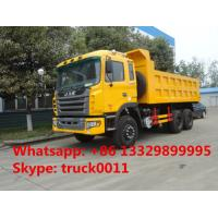 factoruy direct sale JAC brand 6*4 10 wheels drive 25ton dump truck , hot sale JAC LHD 6*4 15cbm dump tipper truck Manufactures