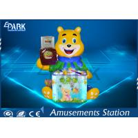 Cute Candy Bear Hammer Arcade Amusement Game Machines For Game Center Manufactures