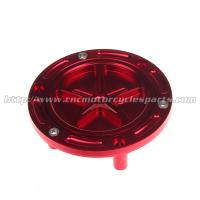 Quality DAYTONA 675 Motorcycle Gas Caps / Fuel Cap Cover 6 Holes CNC Anodized for sale