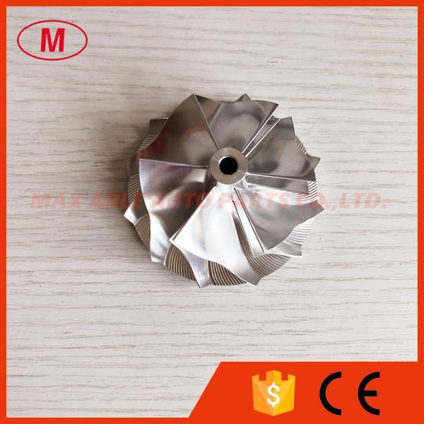 Quality K16 54.20/66.57mm 6+6 blades 5324-123-2206 Upgrade turbo billet/milling/aluminum 2618 compressor wheel for TTRS for sale