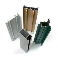 Chemical / Mechanical Polished Aluminum Window Extrusion Profiles For Architectural Manufactures