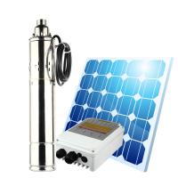 3 inch solar submersible deep tube well suction water pump 48v dc solar water pump system solar well pump solar pump kit Manufactures