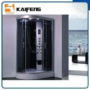 Quality Large Quadrant Shower Cubicle Shower Corner Unit With Sector Shape Sitting Bathtub for sale