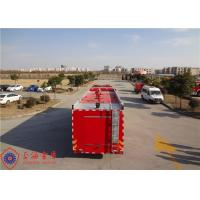 Quality Foam Capacity 9000kg Fire Pumper Truck , Total Side Girder Heavy Rescue Fire Truck for sale