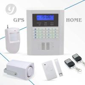 Pstn Home Gsm Security Alarm System Quad-band LCD Display Intruder Alarm Manufactures