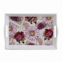 A1 Melamine Tray, Suitable for Promotional and Gift Purposes, Customized Designs are Accepted Manufactures