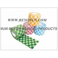 Cohesive Elastic Bandage Elastic Cartoon Check Printed Wrap for Vet Pet Manufactures
