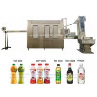 Full Automatic Complete PET Bottle Juice / Mineral Water Filling Production Line Manufactures