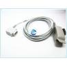 Criticare / CSI FingerSpo2 Sensor , Medical 5 Pin Oxygen Sensor Finger Clips Manufactures