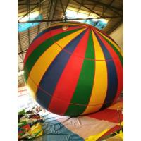Single Color Pvc Cotton Lane Inflatable Advertising Balloons For Outdoor Travel Flight Manufactures