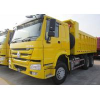 Low Energy Consumption 10 Wheel Dump Truck Euro 2 336HP Carrying 30 Tons Cargo Manufactures