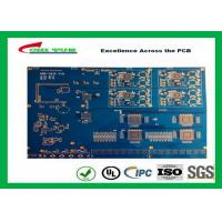 Blue Solder Mask 14 Layer GPS Circuit Board FR4 TG180 10 BGA PCB Manufactures