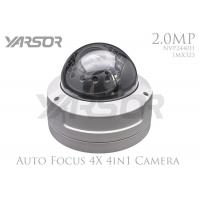 Full HD 4 In 1 Security Camera 2.8 - 12mm Variable Focus Lens 2MP Surveillance Camera Manufactures