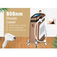 China 808nm Diode Laser Pain Free Hair Removal Waxing Machine Spot Size 12 * 20 mm on sale