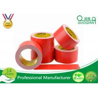 Red Cloth Duct Tape with Strong Adhesion 50 Mesh Polyethylene Material Manufactures