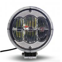 Automatic 7 Inch Outdoor LED Flood Lights For Tractors Truck IP68 Waterproof Manufactures