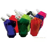 Foldable Water Bag Stand Up Pouch With Spout For Juice , Oil , Gel , Liquid Manufactures
