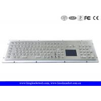 China IP65 Rugged Kiosk Metal Industrial Keyboard with Touchpad Function Keys And Number Keypad on sale