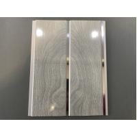 Quality High Strength Peanut Pattern Groove Shaped PVC Wood Panels  250 × 7mm for sale