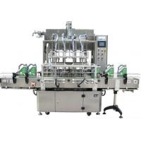Liquid Beverage Filling Equipment Labeling Machine For Fruit Juice Filling Manufactures