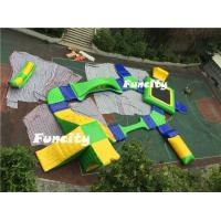 Customized PVC Tarpaulin Inflatable Amusement Park For Water Sport Games Manufactures