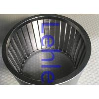 Stainless Steel 316L Vee Wire Screen , Wedge Wire Filter For Horizontal Sand Mill Manufactures